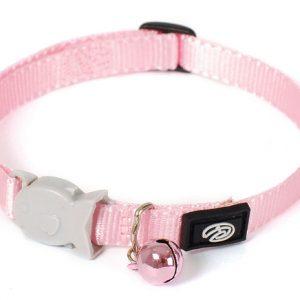 Plain Pink Kitten Collar