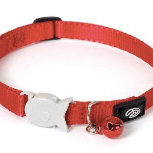 Plain Red Kitten Collar