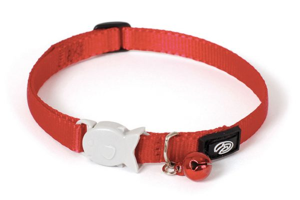 Plain Red Kitten Collar