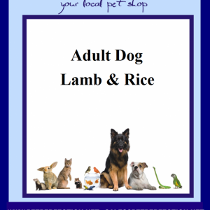 Super Premium Lamb and Rice Adult