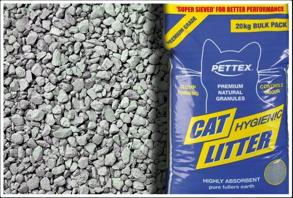 Premium Grey Cat Litter 20 kg