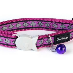 Purple Reflective Cat Collar
