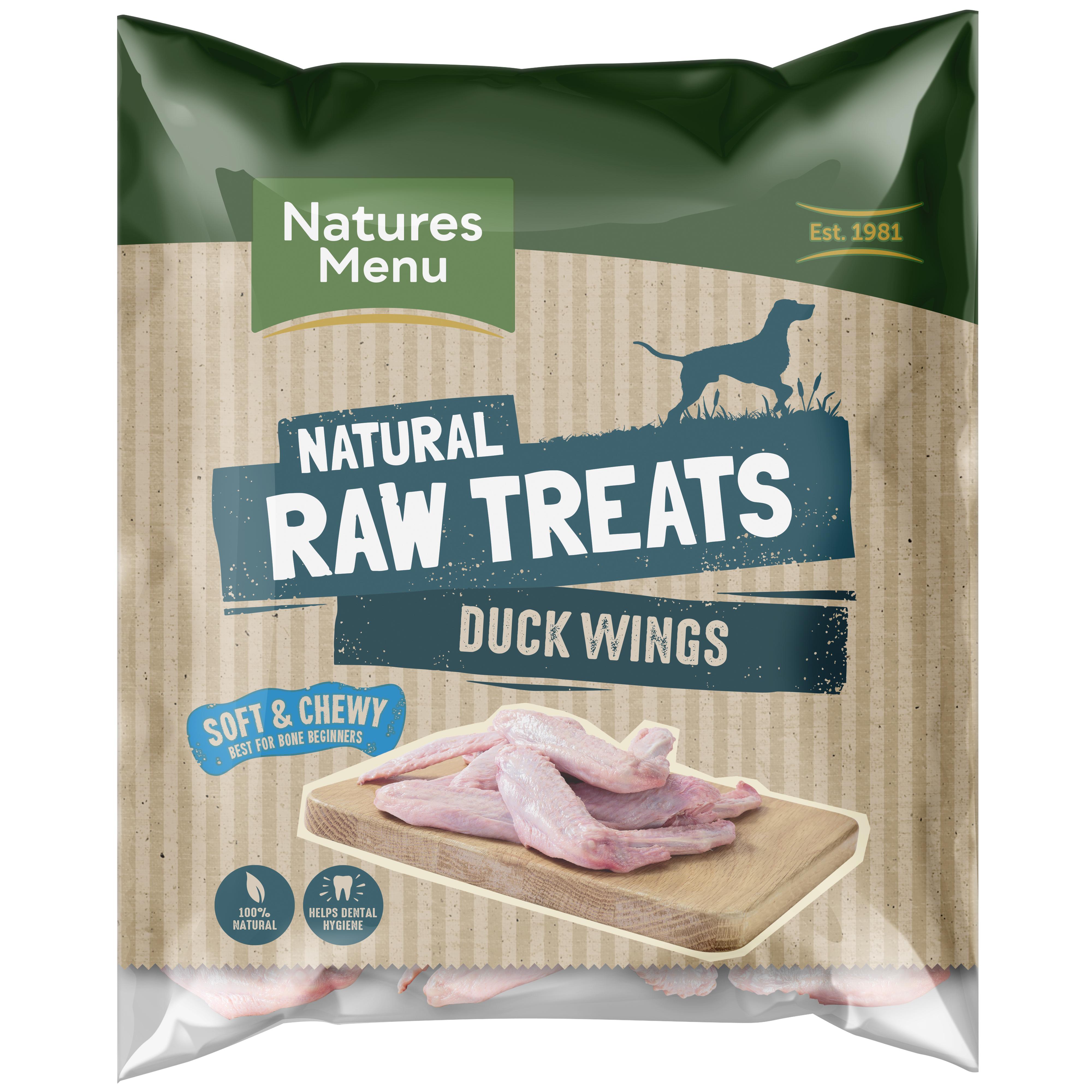 Raw Chews Duck Wings 6 piece