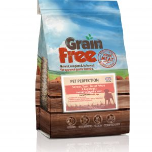 Grain Free Adult Dog Salmon, Trout, Sweet Potato & Asparagus 2kg