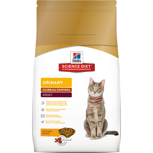 Science Plan Urinary Care Hairball Control 1.5kg