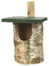 Silver Birch Nest Box Open Front