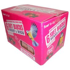 Value Suet Blocks Berry 6 pack