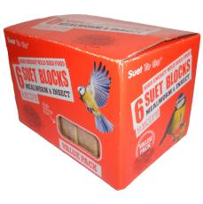 Value Suet Blocks Insect 6 pack