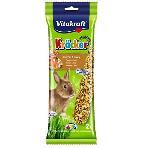Vitakraft Rabbit Popcorn & Honey Stick