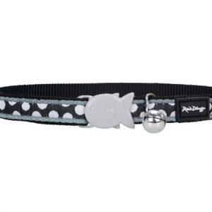 White Spot on Black Cat Collar