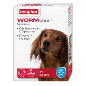 WORMclear For Small Dogs under 20kg